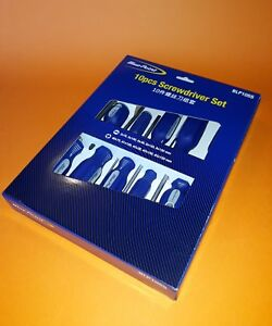 Blue Point 10pc Screwdriver Set New As Sold By Snap On