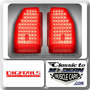 Digi Tails Led Taillight Light Conversion Fits Monte Carlo 86 88 Ls 87 88 Ss