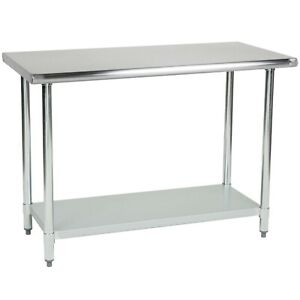 Commercial Stainless Steel Prep Work Table 18 X 24 Nsf