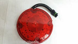 Trucklite 91369r Red Light Led S T T Acrylic Lamp 12v W Connector