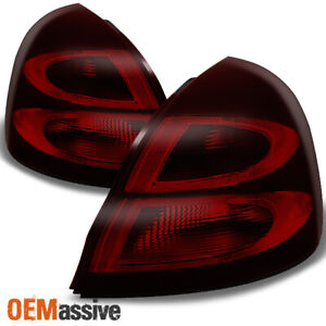 Fit 04 08 Pontiac Grand Prix Dark Red Rear Tail Lights Tail Lamps Replacement