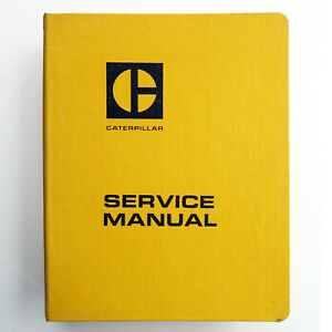 Caterpillar Cat 988 Wheel Loader Service Manual 87a2385 Up Excellent Condition