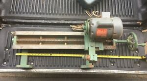 Northfield Foundry Machine Co Grinding Attachment model 16 kg
