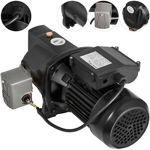 1 Hp Shallow Well Jet Pump W Pressure Switch 110v Heavy Duty Water Ip44 Pro