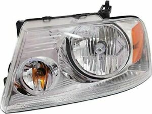 Left Driver Side Headlight Assembly H639kf For F150 2004 2005 2006 2007 2008