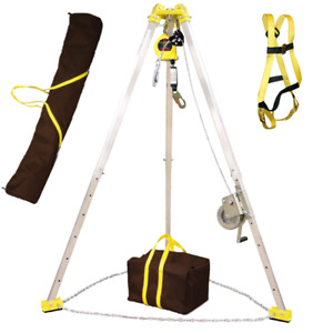Frenchcreek Confined Space Rescue Tripod Tp7 Mw50g Rescue System