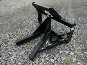 Bobcat Skid Steer Tractor Loader Tree And Post Puller Attachment Free Ship