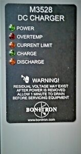 U20 Bonitron s M3528 Battery And Capacitor Chargers For Ultra Capacitors