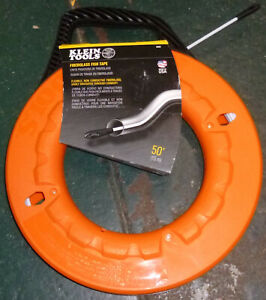 Klein Tools 56022 50 Ft Non conductive Fiberglass Fish Tape Brand New