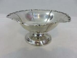 Antique German Lutz Weiss 800 Silver Footed Dish Compote Bowl 7
