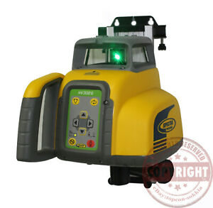 Spectra Precision Hv302g Green Beam Self leveling Rotary Laser Level topcon