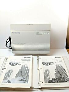 Panasonic Advanced Hybrid Phone System Kx ta624 W 4 Panasonic Kx t7730 Phones