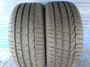 2 Pirelli P Zero 255 35 20 Audi With 8 32nd Tread Left 97 Y