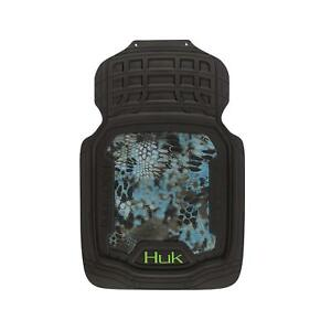 Huk Fishing Floor Mats Kryptek Neptune Camouflage Auto Truck Car Pair