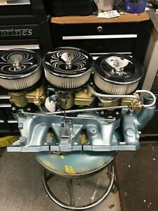 1966 Pontiac Gto Tri Power Set Up