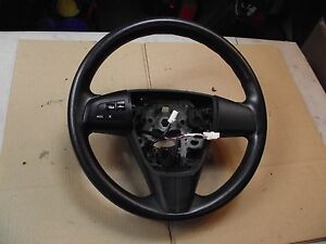 Mazda 3 Mazda3 Oem Steering Wheel And Switches W O Leather