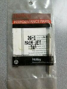 Holley 26 1 Main Jet Tap 1 4 32 Nef Hs