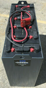 Used And Reconditioned 24 Volt Forklift Battery 12 125 15 875 Amp Hour