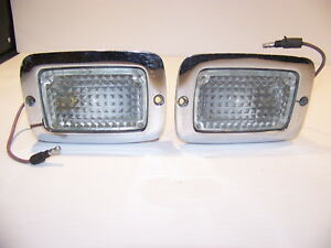 1970 1971 1972 1973 Plymouth Duster Valiant Reverse Lights Oem 3403310 3403311