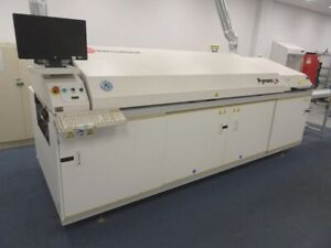 Btu Pyramax 98a Smt Reflow Oven Excellent Condition Edge Rail And Mesh