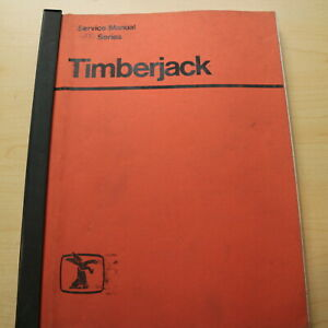 Timberjack 200 Series Log Wheel Skidder Repair Shop Service Manual Book Overhaul