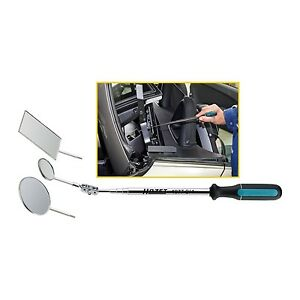 Hazet 1977 2 4 Telescopic Inspection Mirror Set