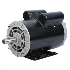 230v 5hp 3450rpm Electric Air Compressor Duty Electric Motor 56 Frame 7 8 Shaft