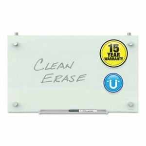 Quartet Infinity Magnetic Glass Dry Erase Cubicle Board 18 X 30 qrtpdec1830