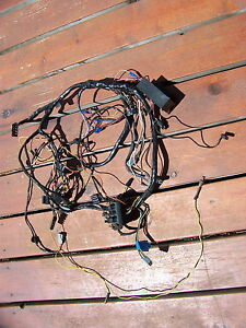 1965 Plymouth Satellite Under Dash Wiring Harness Belvedere Oem 2497292