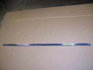 1968 Chrysler Imperial 4d Right Rear Door Trim Oem Lower Only