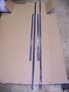1968 Chrysler Imperial 4d Quarter Panel Trim Oem 4 Pcs