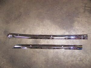 1967 Plymouth Satellite Rh Rear Glass Trim Oem Belvedere Gtx