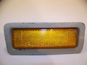 1969 Plymouth Road Runner Satellite Gtx Amber Marker Light Oem 2930753