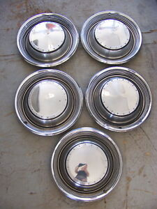 1971 Chrysler 15 Hubcaps Wheel Covers 3461410 New Yorker Town