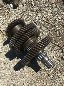 Ford 600 800 Tractor 4 Speed Transmission Top Shaft Gears
