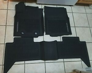 2016 2017 Toyota Tacoma Double Cab Oem All Weather Floor Mats For Pt908 36164 20