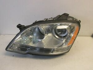 2009 2010 2011 Mercedes Benz Ml350 Ml550 Headlight Xenon Left Original Oem 2515