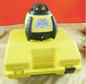 Leica Rugby 50 Rotating Laser Level Works Levels And Spins