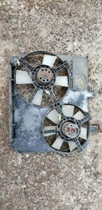 1987 1988 Thunderbird Turbo Coupe Dual Electric Cooling Fan Assembly