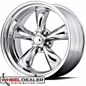 18x7 18x8 American Racing Torque Thrust Ii Wheels Rims Ford Mustang 1967 1968