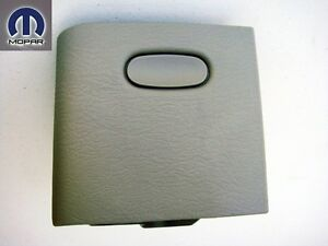 Dodge Ram 2002 2005 Dash Ashtray Hinged Ash Tray Door Receiver Box Taupe Color