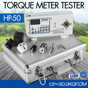 1pc New High Quality Digital Hios Hp 50 Torque Meter Tester