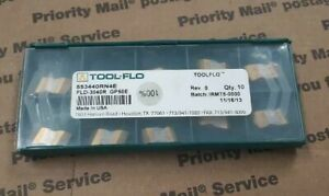 Tool flo Indexable Insert No Fld 3040r Gp50 553440rn4 10 Pack Factory Sealed