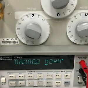 Hp Agilent 34401a Digital Multimeter 6 Digit Tested Within Spec Very Clean