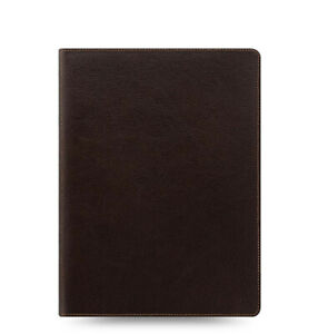 Filofax A5 Compact Size Heritage Organiser Planner Diary Brown Leather 026025