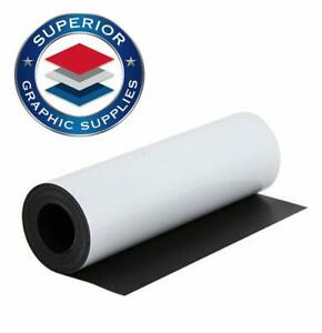 Magnetic White Material Strongly Flexible Magnetic Sheet Roll 30 Mil