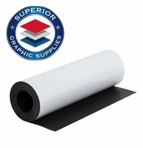 Magnetic White Material strongly Adhesive Flexible Magnetic Sheet Roll 30 Mil