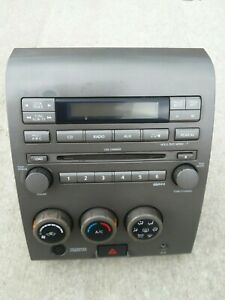 04 05 06 07 Nissan Titan Rds Cd Aux Dvd Radio Player Climate Control Panel Oem