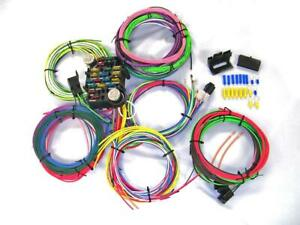 Gearhead 1966 1968 Chevy Impala Biscayne Complete Wire Harness Wiring Kit Usa