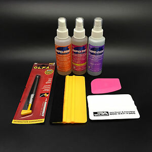 Rapid Tac Vinyl Install Kit Everything You Need To Install Vinyl Graphics
